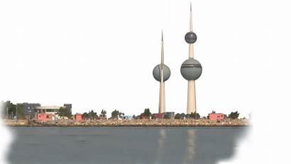 Kuwait Towers Praying Believers