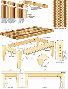 Woodwork Joiners Bench Plans Plans Coffee Table small