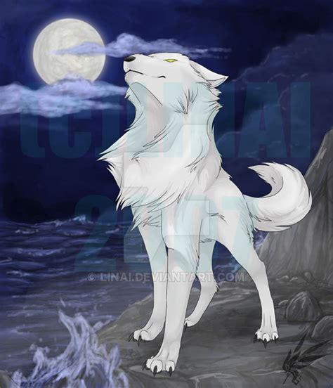 white wolf take 4 by linai on deviantart