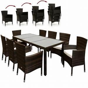 Gartenmöbel Set Ebay : deuba poly rattan sitzgruppe sitzgarnitur 8 1 garten gartenm bel set braun ebay ~ A.2002-acura-tl-radio.info Haus und Dekorationen