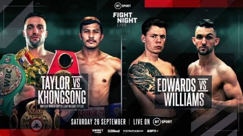 Charlie Edwards added to Taylor vs Khongsong undercard ...