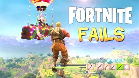 fortnite battle royale fail compilation youtube