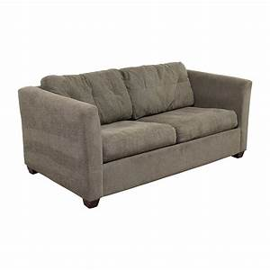 66 off bauhaus bauhaus grey queen sleeper sofa sofas for Bauhaus sectional sleeper sofa
