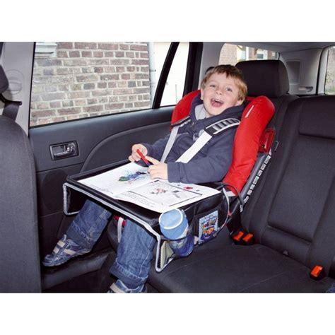 siege auto voyage tablette plateau siège auto de voyage enfant aquacars
