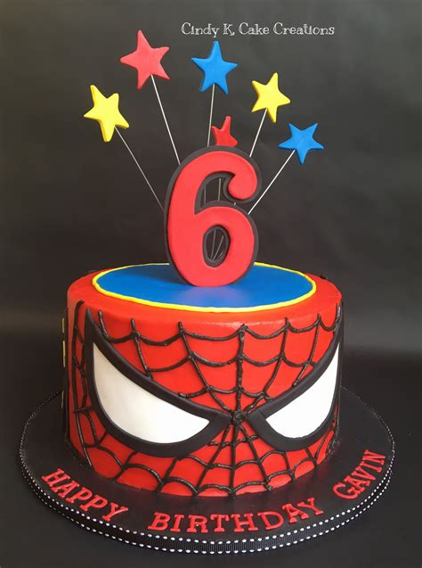 spider man cake   buttercream  cindy  cake