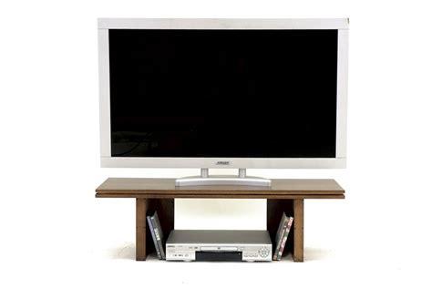 canapé d angle petit format meuble tv destructure 1 niche bois massif h30 cm l100 cm