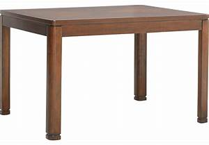 Sutter Place Brown Cherry Dining Table - Dining Tables