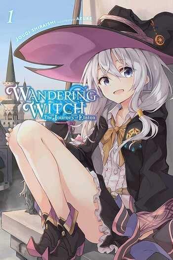 wandering witch  journey  elaina light  manga