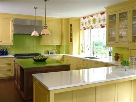 and yellow kitchen ideas green kitchen cabinets what color walls quicua com
