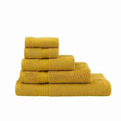 Dunelm Mustard Cotton Egyptian Towels Towel Ultimate