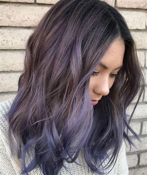 hair color balayage 30 brand new ultra trendy purple balayage hair color ideas