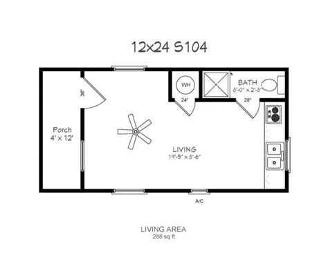 12x24 Shed Floor Plans by 17 Best Images About Dadu Ideas On Tiny Houses