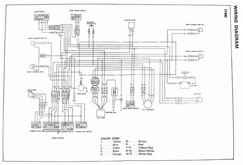 wiring diagram for 1975 yamaha dt 125 honda xl 125 wiring