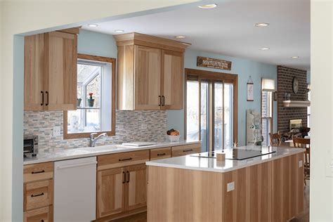 hickory kitchen remodel  arlington heights