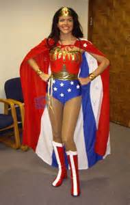 Wonder Woman Costume with Cape