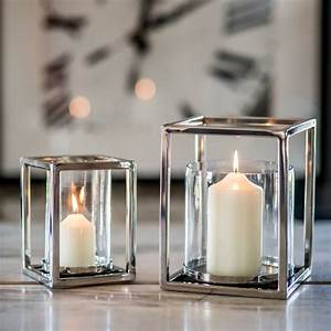 Silver, Plated, Square, Candle, Holder, By, Marquis, U0026, Dawe