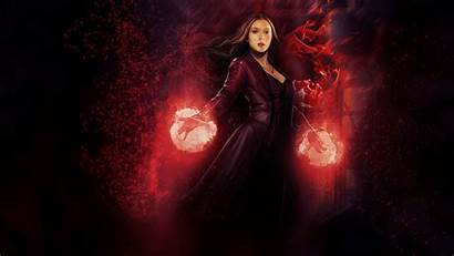 Wanda Witch Scarlet Maximoff Avengers Wallpapers Marvel