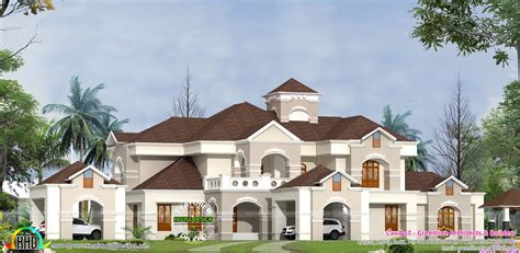 colonial homes floor plans luxury villa design in kerala kerala home design