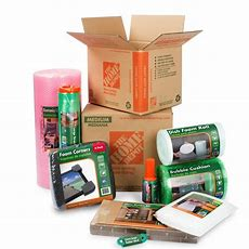 Home Depot Moving And Storage Products 100% Recycled And
