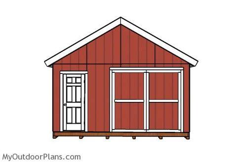 diy double doors    shed myoutdoorplans
