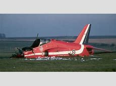 Red Arrows Hawk Crashed at RAF Valley airbase in north