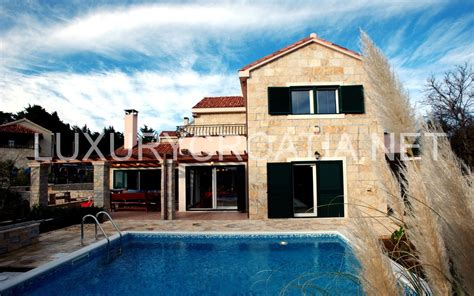 Luxury Villa On Swedish Island by Luxury Villa With Pool For Rent Praznica Brac Island
