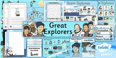 History Great Explorers Ks1 Unit Additional Resources