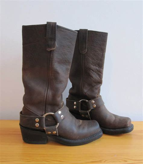 brown leather motorcycle boots 5 double h harness brown leather motorcycle boots