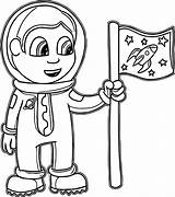 Astronaut Coloring Pages Preschool Parts Preschoolers Suit Sheet Printables Space Drawing Shuttle Getcolorings Printable Getdrawings Colorings sketch template