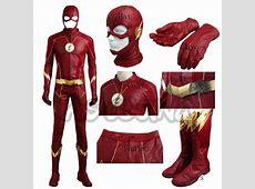 The Flash Season 4 Barry Allen Costume Cosplay Flash