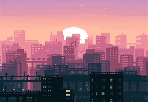 Animated City Wallpaper - aesthetic city wallpaper engine free wallpaper