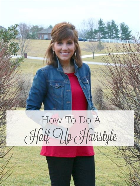 how to do a half up hairstyle tutorial best of grace