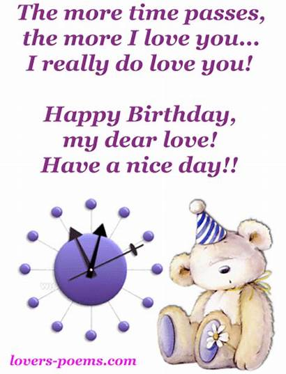Birthday Happy Poems Lovers Messages Poem Df
