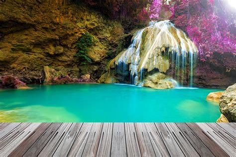 Desktop Wallpapers Thailand Nature Waterfalls Tropics