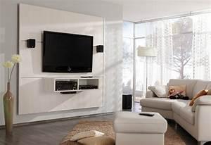 Fernseher Aufhängen Wand : fernseher wand deko ~ Michelbontemps.com Haus und Dekorationen