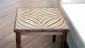 Making A  U0026quot Wave U0026quot  3d Coffee Table