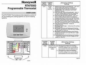 Honeywell Thermostat Heat Pump Wiring Diagram