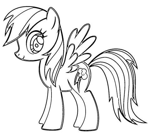 Gala Kleurplaat by Rainbow Dash Pony Coloring Page My Pony