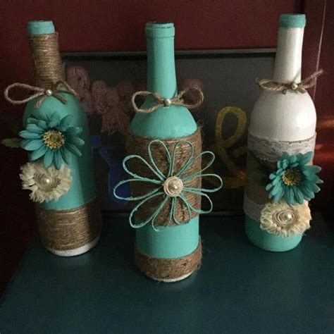 Decorative Wine Bottles Ideas by 17 Best Ideas About Wine Bottle Wrapping On