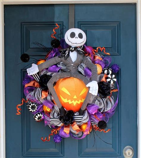 Nightmare Before Christmas Wreath Svg  – 262+ DXF Include