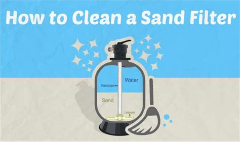 How To Clean A Sand Filter