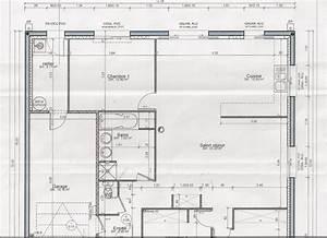plan facade maison maison moderne With plan maison piscine interieure