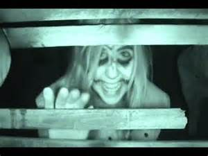 People Getting Scared in Haunted Houses