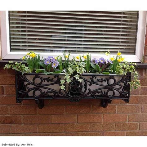Flowers For Windowsill by Outdoor Wooden Box Windowsill Stratford Planter Flower