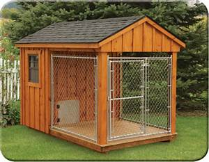 Amish Dog Kennels for Sale in NJ B & L Woodworking