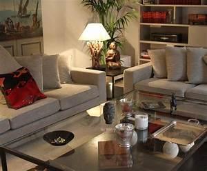 Salon Classique Chic : photo deco salon blanc classique maison classique chic beige peinture int rieur decor ~ Dallasstarsshop.com Idées de Décoration