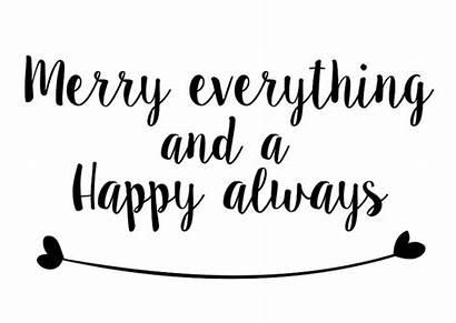 Merry Everything Happy Kerst Kerstkaarten Quotes Kaartje2go