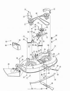 Troy Bilt 13an77tg766 Pony  2007  Parts Diagram For Deck