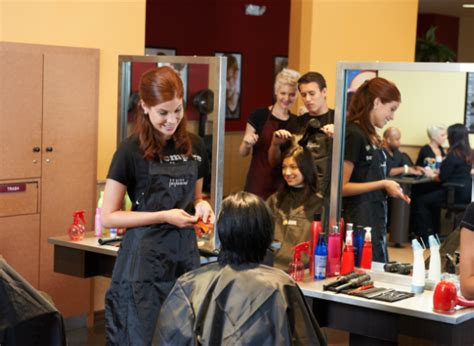 the hair design school how to get the best hair cut by a student at a hair school