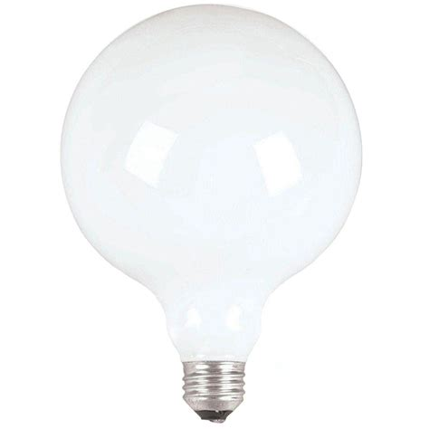philips duramax 100 watt incandescent g40 white decorative
